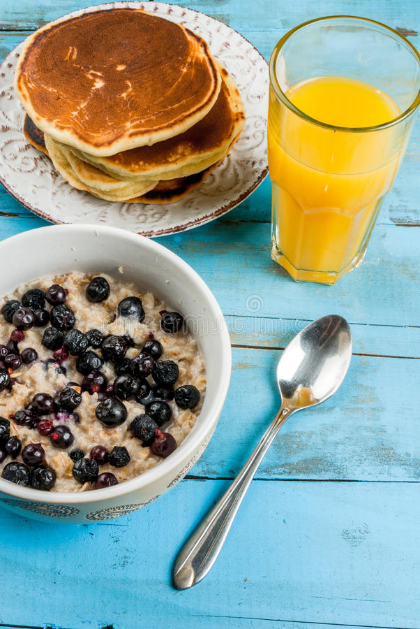 Download Everything You Need For Continental Breakfast Stock Photo - Image: 83717516