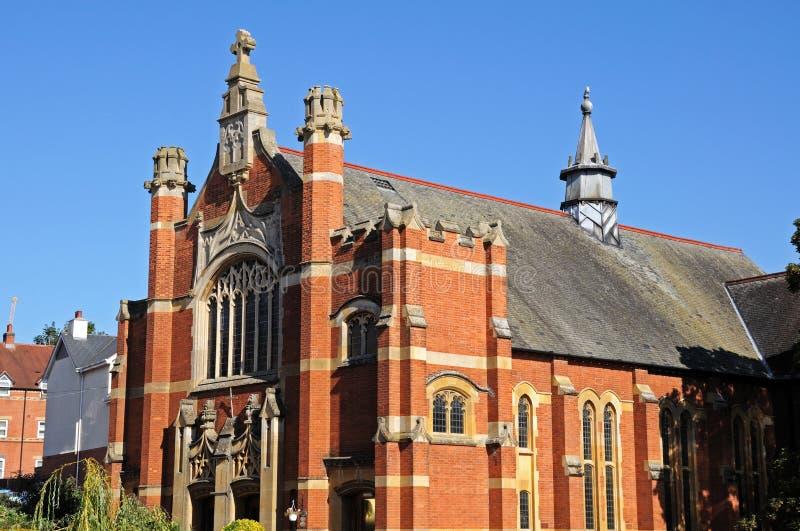 Evesham-methodistische Kirche stockfotos