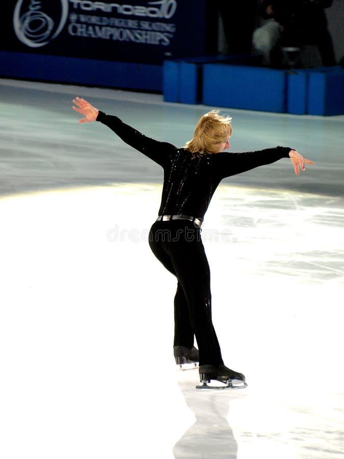 Evgeni Plushenko Foto de Stock Editorial
