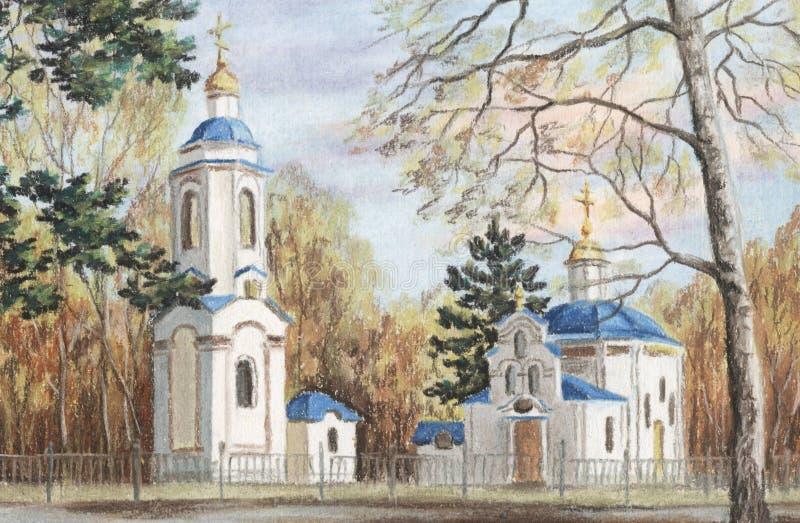 Evgenie Muchenika Church Royalty Free Stock Photography
