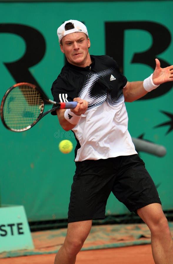 Evgeny Korolev at Roland Garros stock image