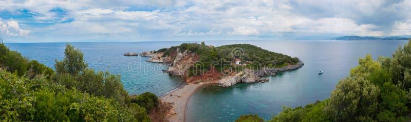 Download Evia Island Panorama Landscape Stock Photo - Image: 43414294