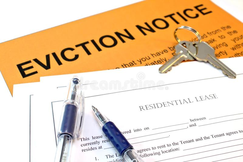 Evicted royalty free stock image