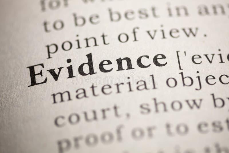 Evidence stock photos