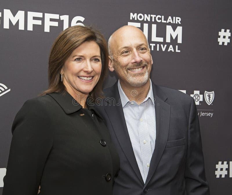 Evie Colbert et Robert A Feinberg photographie stock