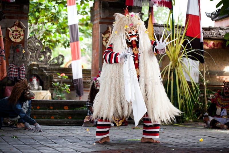 Evil demon Rangda Bali Indonesia royalty free stock photo