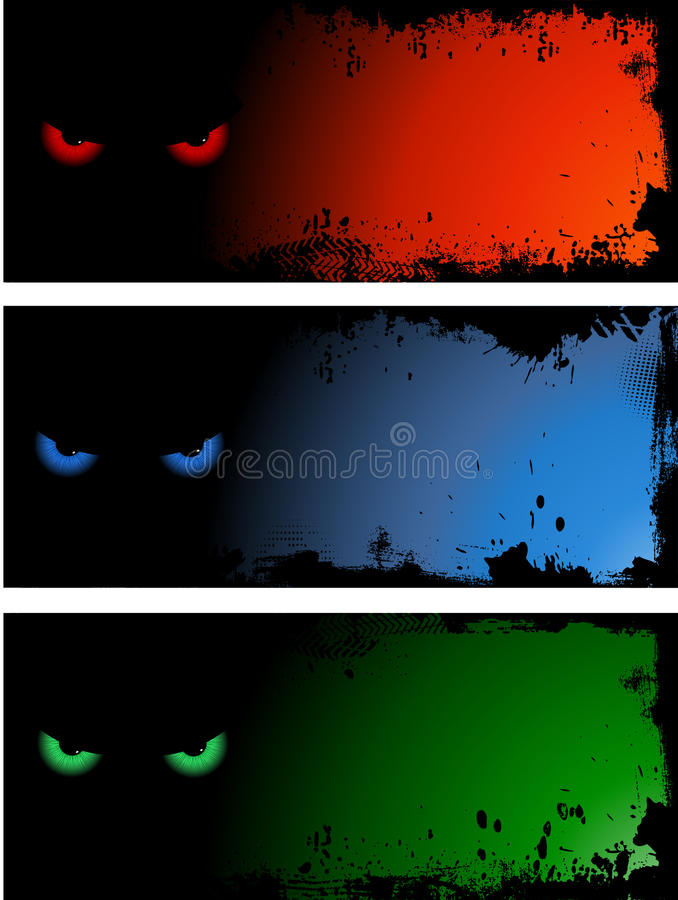 Download Evil eye backgrounds stock vector. Illustration of spooky - 10548074