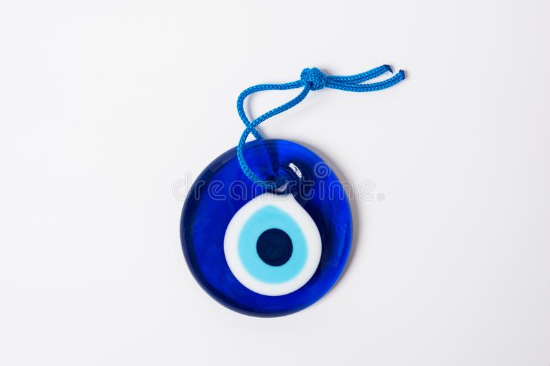Evil eye bead. Eastern culture and evil eye stock photos