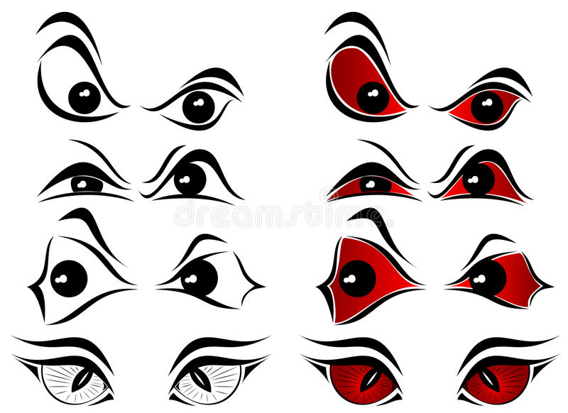 Download Evil Eyes Royalty Free Stock Photography - Image: 20934927