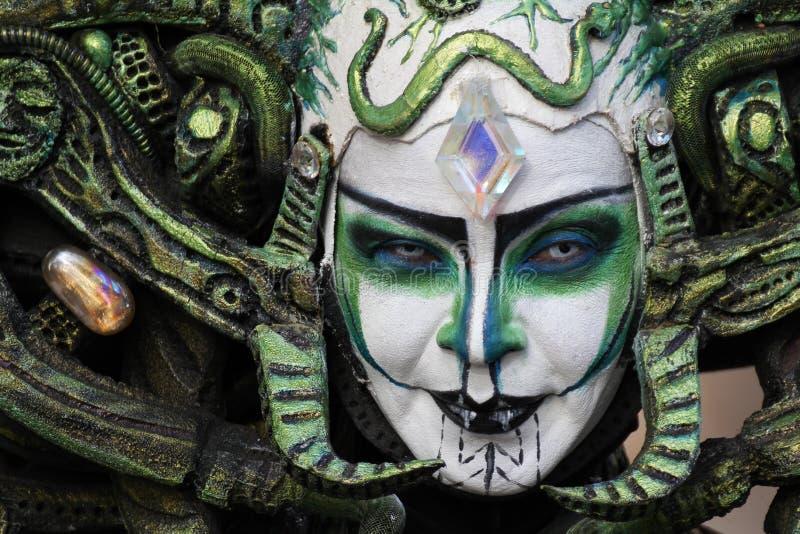 Download Evil grin editorial image. Image of performer, rambla - 33754820