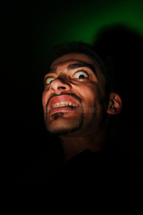 Download Evil looking man stock image. Image of devilish, drama - 2389429