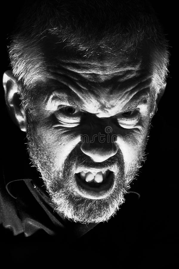 Evil Man stock images