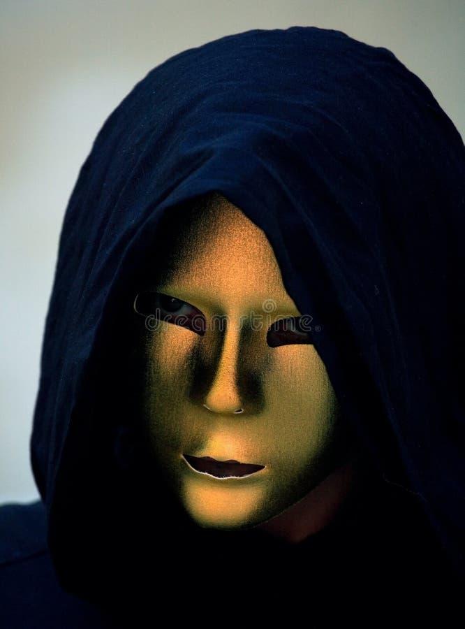 Evil mask stock image