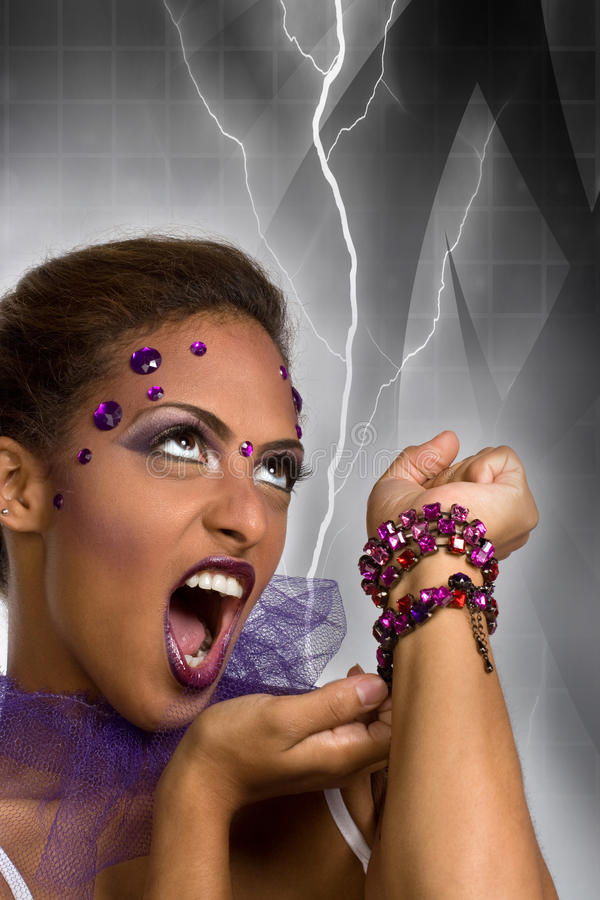 Evil Queen Royalty Free Stock Photography