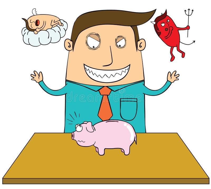 Download Evil whisper stock vector. Image of afraid, worker, cloud - 27365600