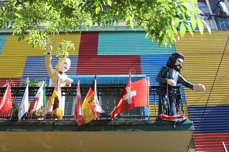 Evita Che Guevara i el obrazy stock