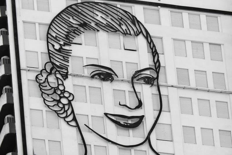 Evita Peron foto de archivo