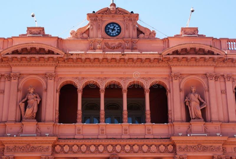 Evita Peron Balcony imagen de archivo