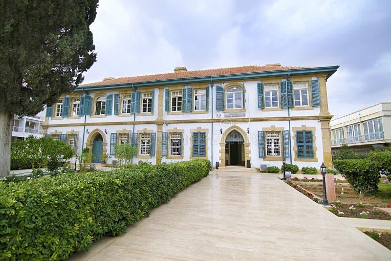 The EVKAF Foundation at Kyrenia occupied Cyprus stock photos