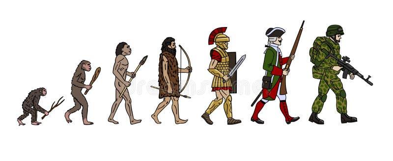 Evolutie royalty-vrije illustratie