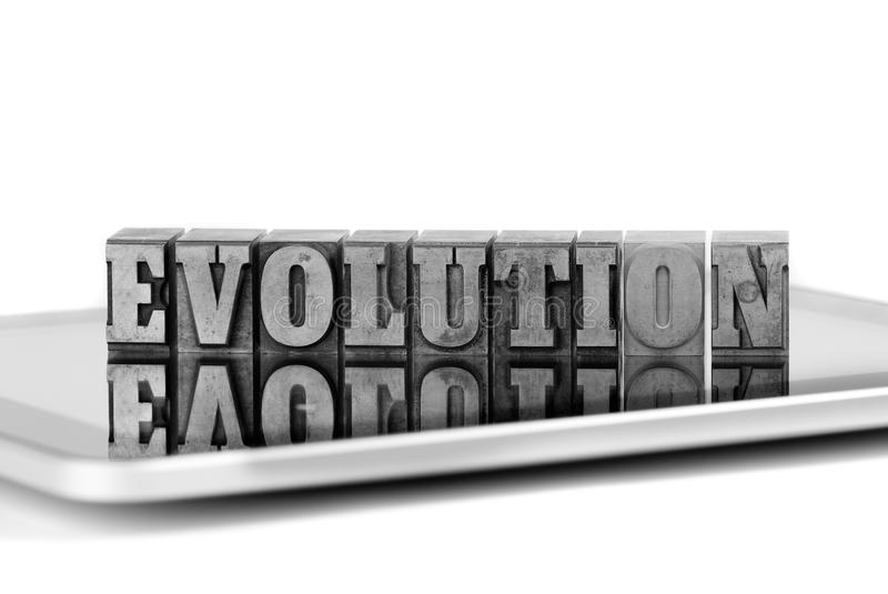 Evolution 1 stock photos