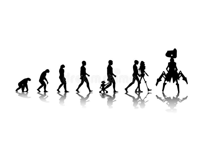 Download Evolution stock vector. Image of illustration, exist - 11780248