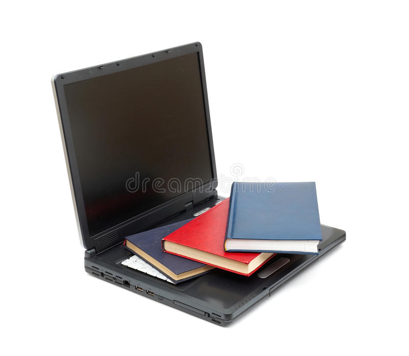 Download Evolution From Books To Computers Stock Image - Image: 17489719