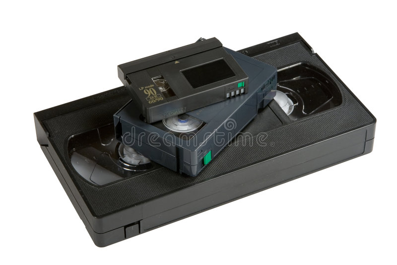 Evolution VHS Stock Photo