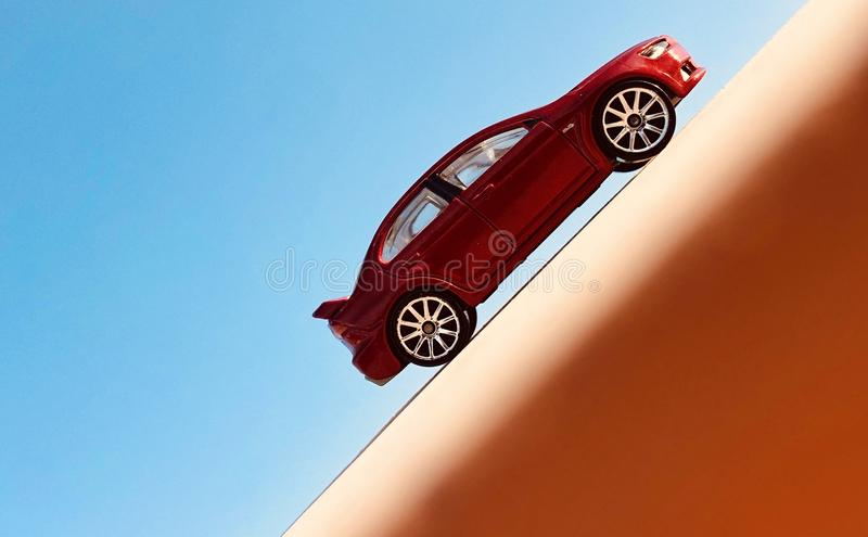 Evoluzione 2008 di Mitsubishi Lancer fotografia stock libera da diritti
