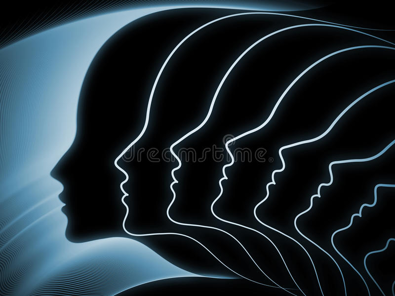 Download Evolving Soul Geometry Royalty Free Stock Image - Image: 34204506