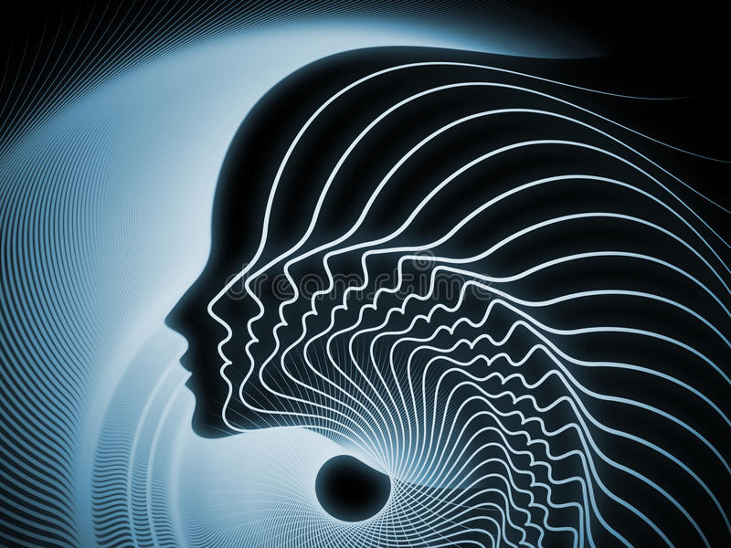 Download Evolving Soul Geometry stock illustration. Image of intellect - 34204525