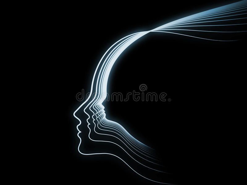 Download Evolving Soul Geometry stock illustration. Illustration of consciousness - 34204557
