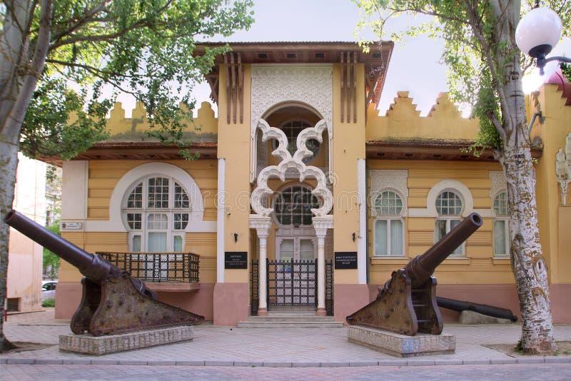 Evpatoriamuseum van Lokale Overlevering, Evpatoria-stad, de Krim stock afbeelding