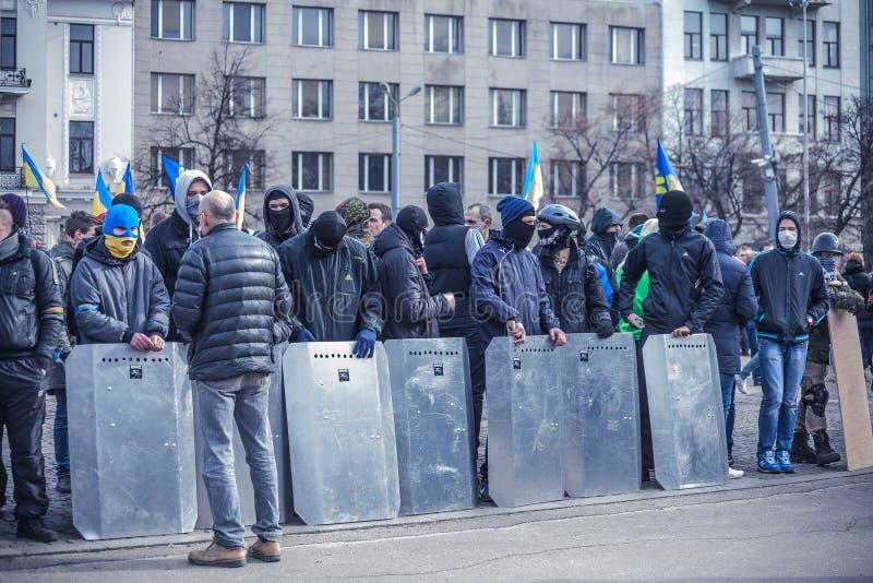 Download Evromaydan Self-defense In Ukraine Editorial Stock Photo - Image of overthrow, people: 38601368