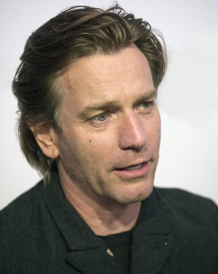 Ewan McGregor chega no festival de cinema 2018 de Tribeca fotos de stock royalty free