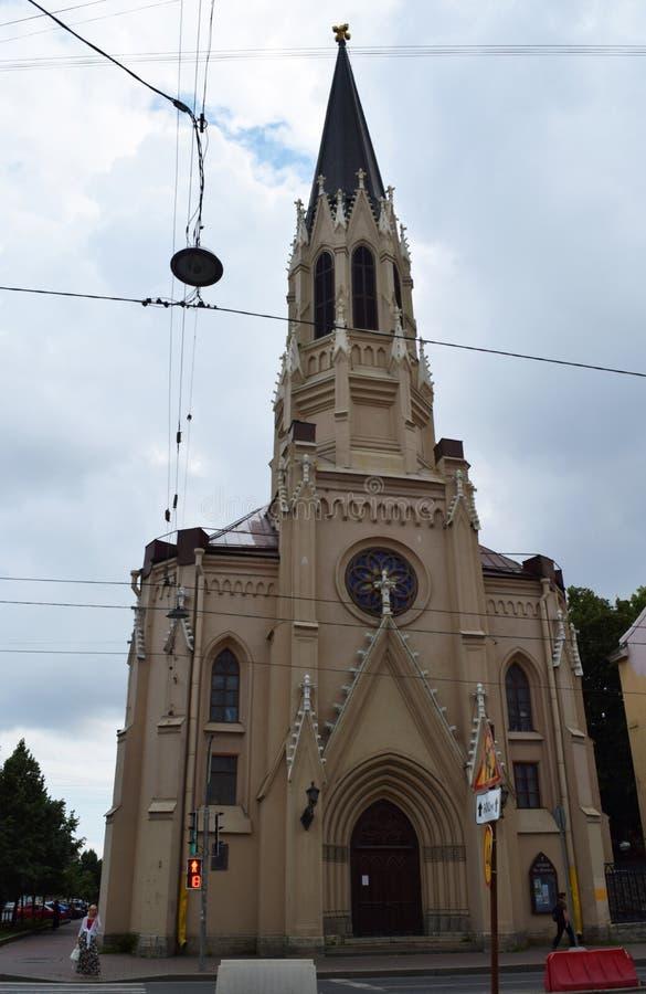 Ewangelicka Luterańska katedra St Michael w St Petersburg zdjęcia royalty free
