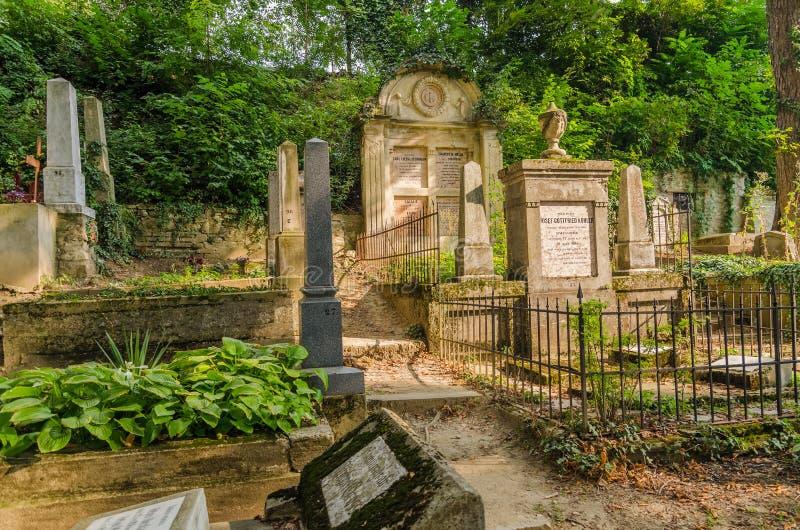 Ewangelicki cmentarz zdjęcia royalty free