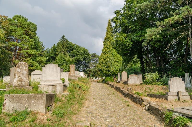 Ewangelicki cmentarz zdjęcie royalty free