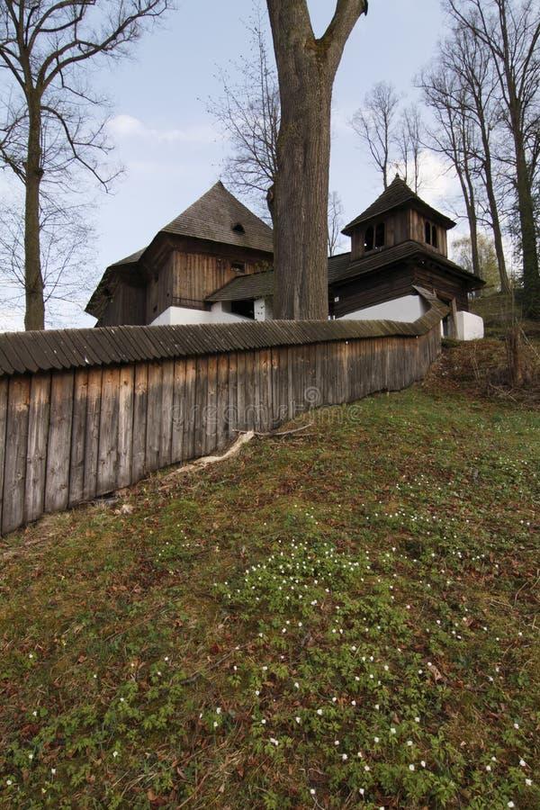 Ewangelicki drewniany kościół obrazy stock