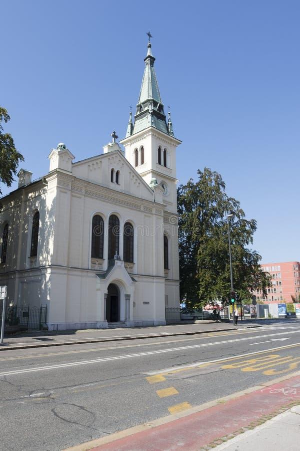 Ewangelicki kościół obrazy royalty free
