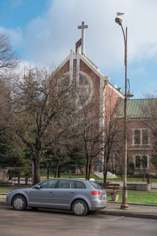 Ewangelicki kościół metodystów, Varna, Bułgaria fotografia stock