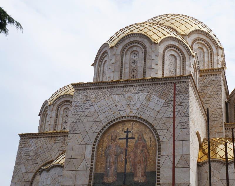Ewangelicki Kościelny Soulcraft w Skopje fotografia stock