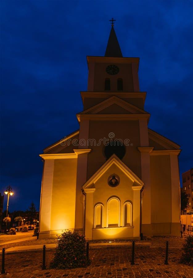 Ewangeliczka kościół w Sztum, Polska zdjęcie royalty free