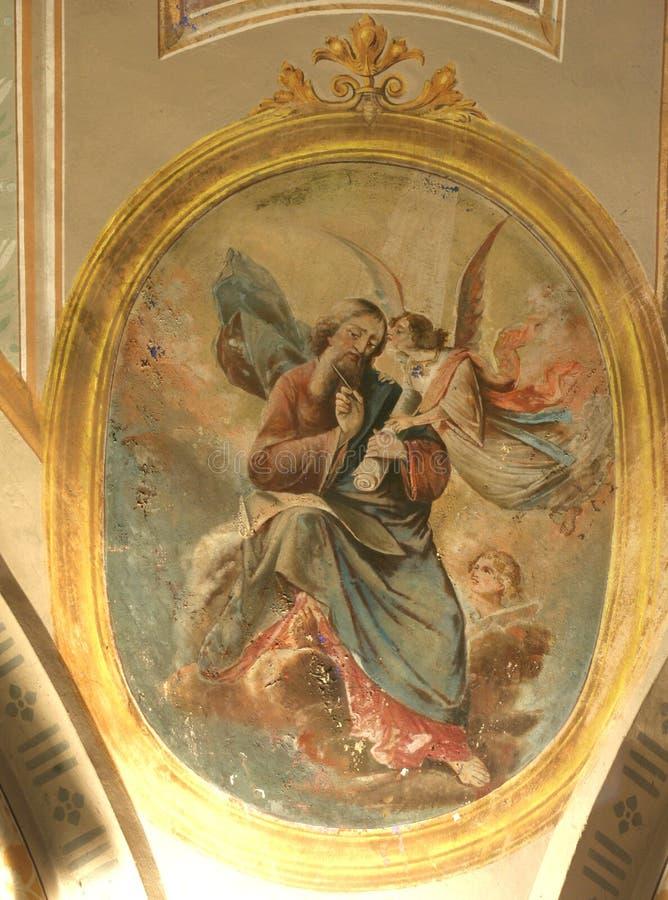 ewangelisty Matthew święty zdjęcie stock