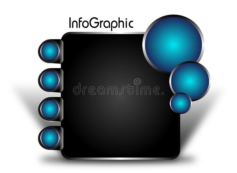Ewidencyjny graficzny szablon ilustracja wektor