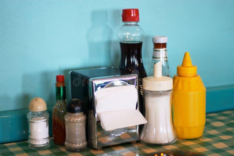 Download Ewiges Restaurant stockfoto. Bild von kaffee, salz, papier - 36278