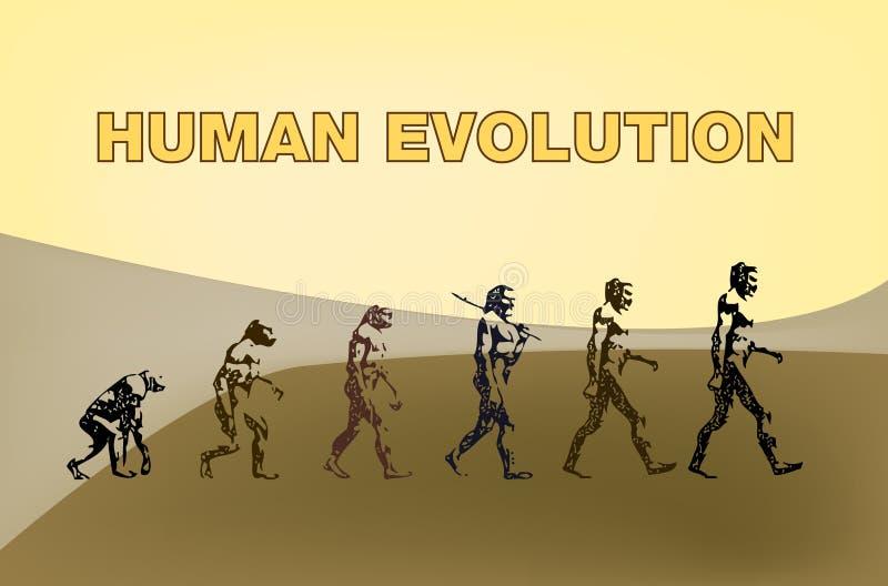 ewoluci istota ludzka fotografia royalty free