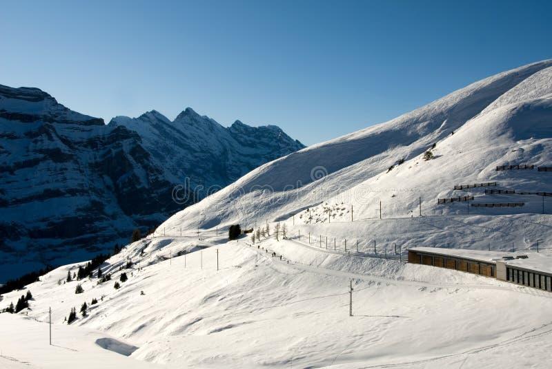 exécutez le ski photographie stock libre de droits
