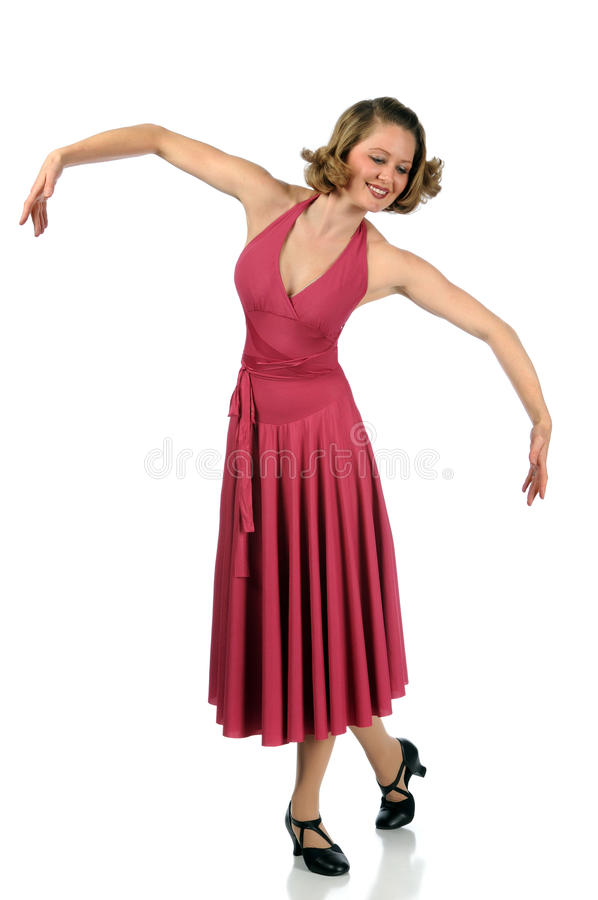 Exécution de danseur images libres de droits