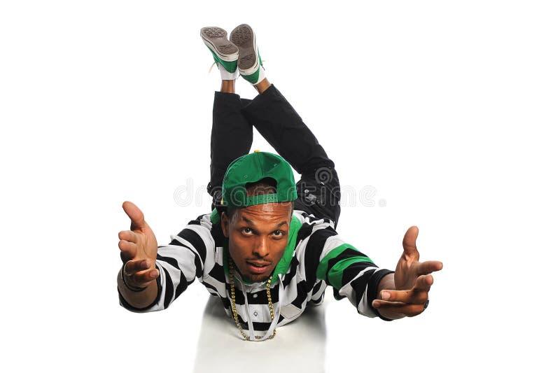 Exécution de danseur de Hip Hop photo libre de droits
